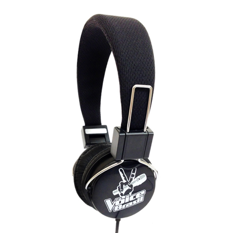 HEADPHONE THE VOICE PRETO/BRANCO - COD.2084/2085