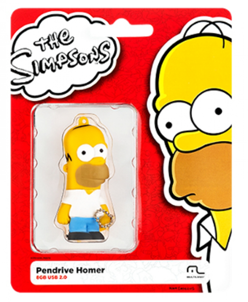 PEN DRIVE SIMPSONS HOMER 8GB - COD.2427
