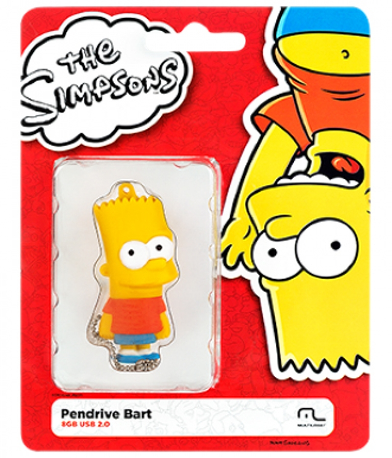 PEN DRIVE SIMPSONS BART 8GB - COD.2428
